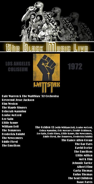 The Black Music Live #40 - le live du festival WattStax