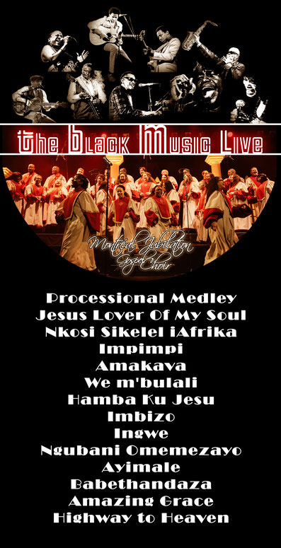 The Black Music Live n°37 - Montreal Jubilation Gospel Choir