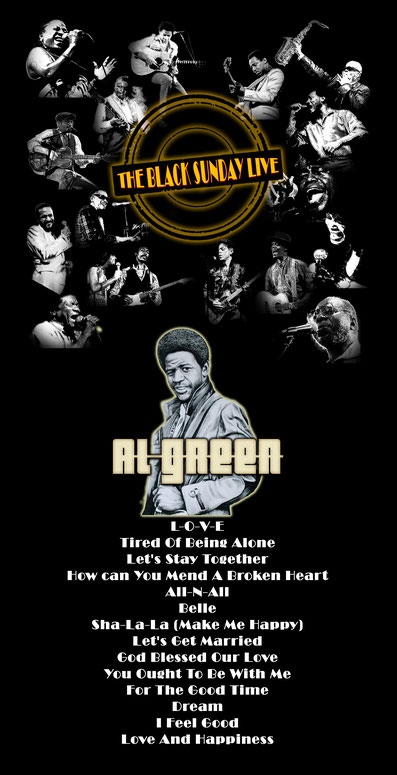 the Funky Soul story - émission The Black Sunday Live avec Al Green