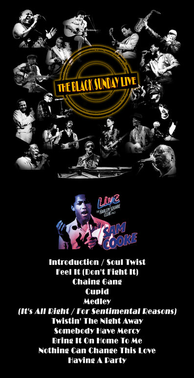 the Funky Soul story - Playlist de l'émission The Black Sunday Live avec Samm Cooke