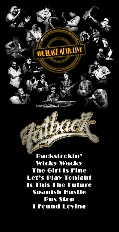 the Funky Soul story - Playlist de l'émission The Black Music Live #19 avec The Fatback Band
