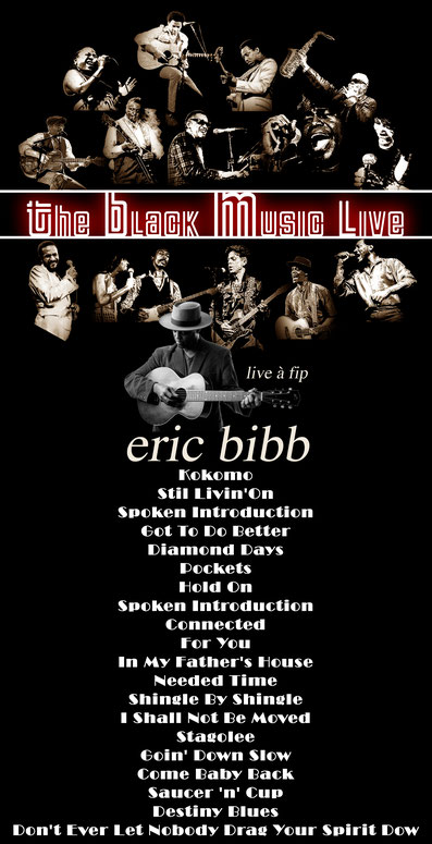 the Funky Soul story - Playlist de l'émission The Black Music Live avec Eric Bibb