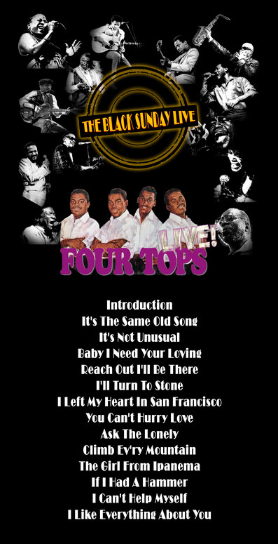 The Black Sunday Live #18 - The Four Tops