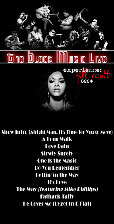 The Black Music Live #39 - Jill Scott