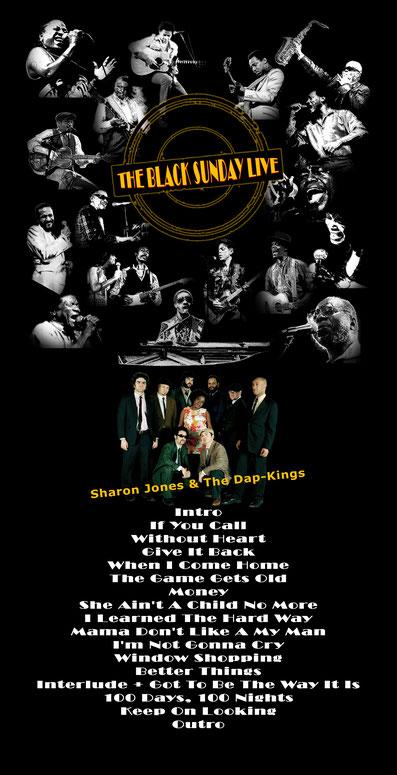 the Funky Soul story - Playlist de l'émission The Black Sunday Live #05 avec Sharon Jones & The Dap-Kings
