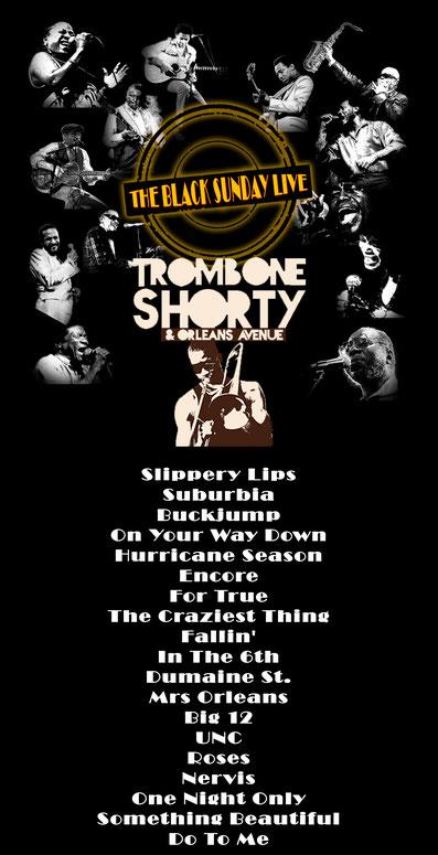 The Black Sunday Live #14 - Trombone Shorty & Orleans Avenue
