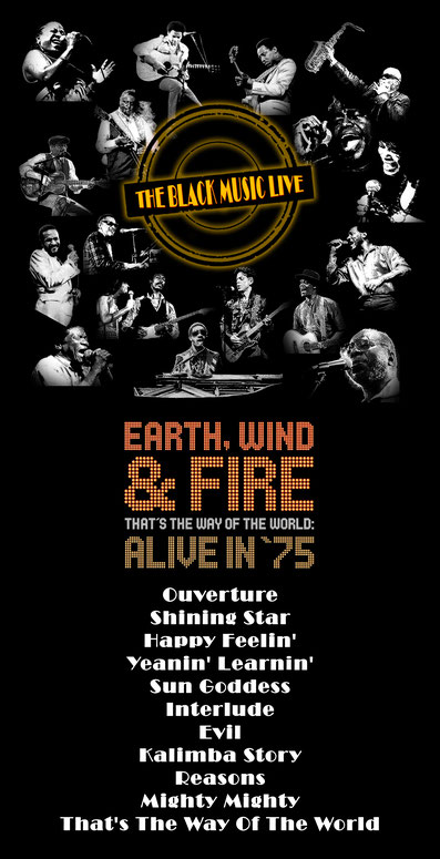 Playlist to radishow The Black Music Live #23 with Earth, Wind & Fire