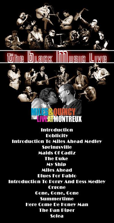 The Black Music Live #26 - Miles Davis & Quincy Jones