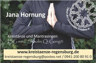 Visitenkarte Jana Hornung