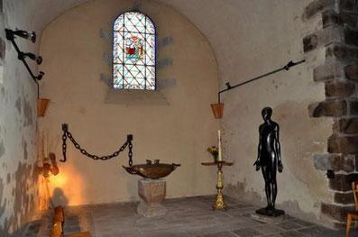 Fonds baptismaux de l'église d'Ernée