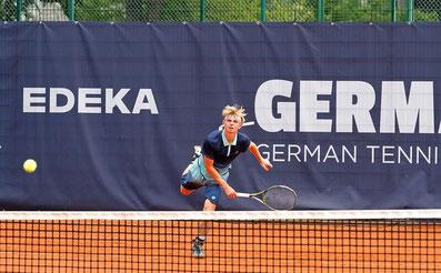 Lewie Lane spielte 2019 beim Rothenbaum-Turnier die Junior Trophy