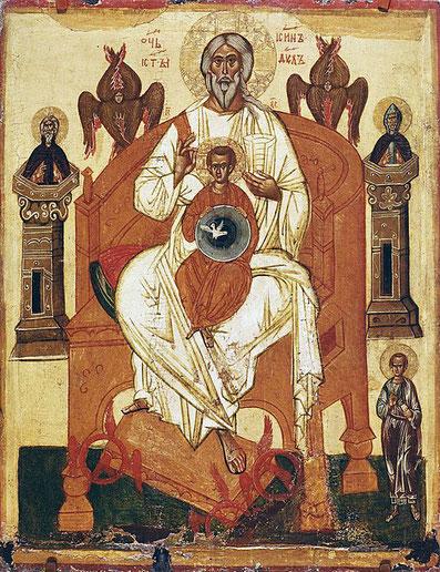 Icône représentant la trinité. Que dit la Bible sur la doctrine de la trinité ?