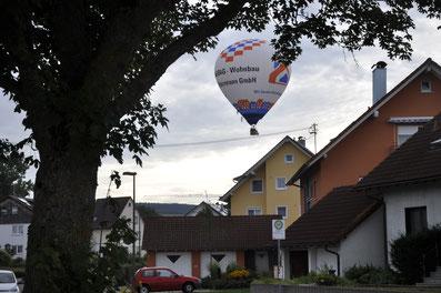 Ballonflug, Schwarzwald, Bad Dürrheim, Heißluftballon