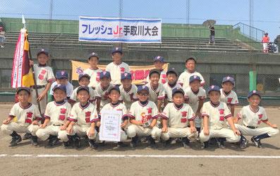 優勝-富陽学童野球クラブ