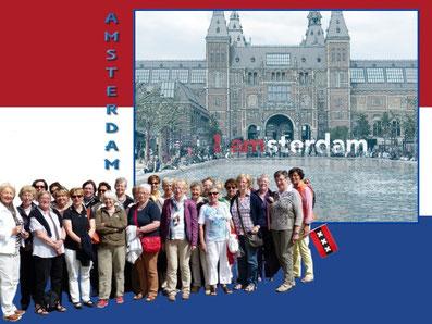 Wochenfahrt nach Amsterdam