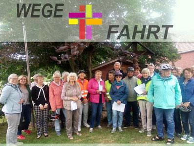 Gemeinsame Radtour  zu den Kreuzen und Bildstöcken