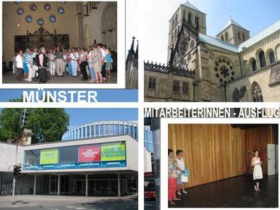 Mitarbeiterinnen-Ausflug nach Münster