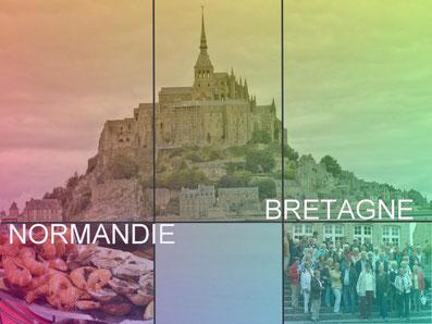 Frankreich:  Normandie & Bretagne