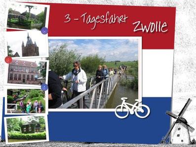 Wochenend-Fahrradtour nach Zwolle