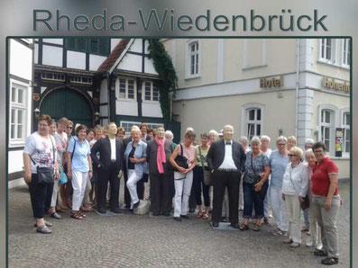 Tagesfahrt - Rheda-Wiedenbrück