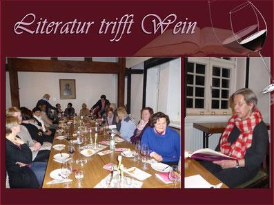 Literatur trifft Wein