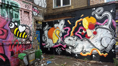 Insidertipps Shoreditch London - Street Art Brick Lane