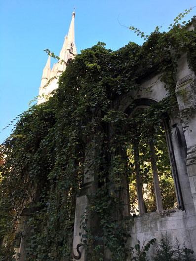 Hidden Gems London - St Dunstan in the East