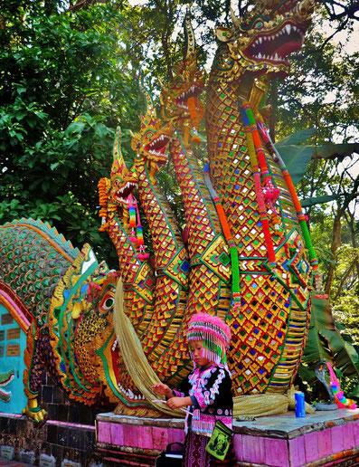 Reiseroute Thailand 2 Wochen - Wat Phra That Doi Suthep, Chiang Mai
