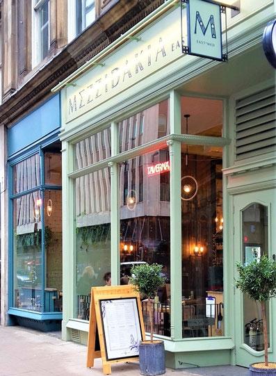 Glasgow - beste Restaurants / Mezzidakia