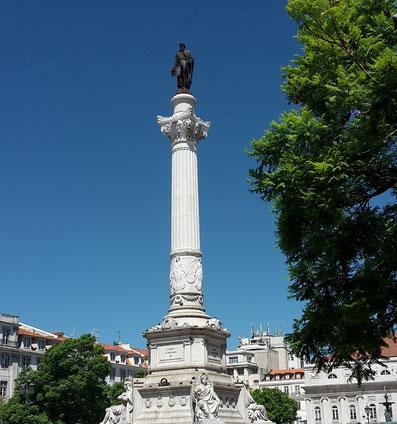 Praça da Figueira Lissabon