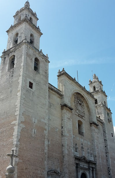 Kathedrale von Mérida in Yucatan