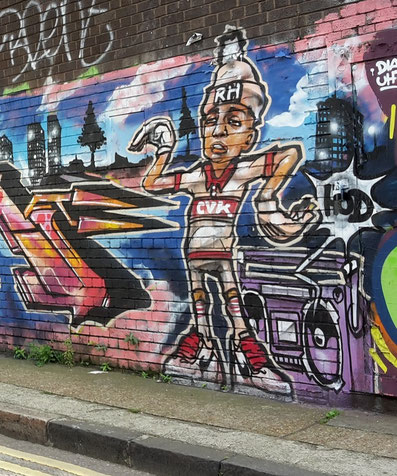 Shoreditch London area guide - best street art