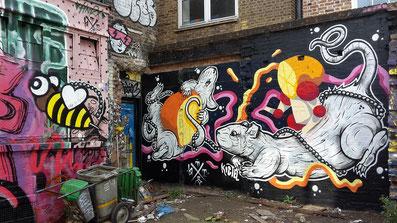 ThisOne, Shoreditch Street Art Tour