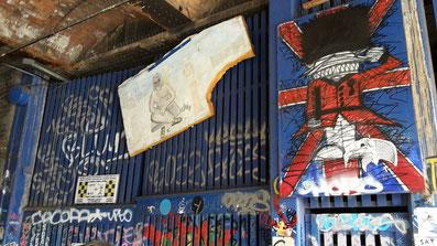 Shoreditch Street Art Tours, Nathan Bowen