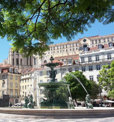 Praça Rossio Lissabon