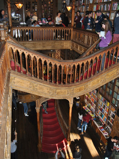 Porto Top 10 Tourist Attractions - Book Shop Livraria Lello