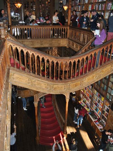 Porto Top 10 Tourist Attractions - Book Shop Livraria Lello