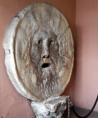 Bocca della Verita in Rom