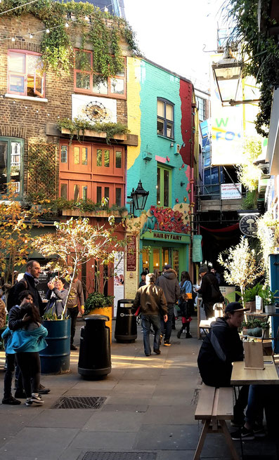 Hidden Gems London - Neal´s Yard
