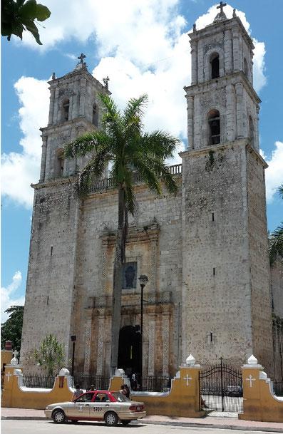 Kathedrale Valladolid Mexiko