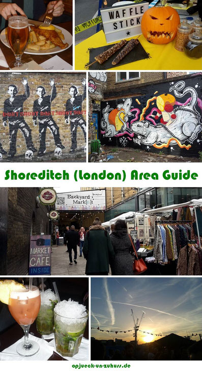 Shoreditch London Area Guide