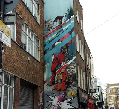 Conor Harrington, Shoreditch Street Art Tour