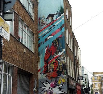 Conor Harrington, Shoreditch Street Art Tour