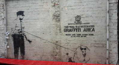 Insidertipps Shoreditch London - Street Art Banksy Cargo