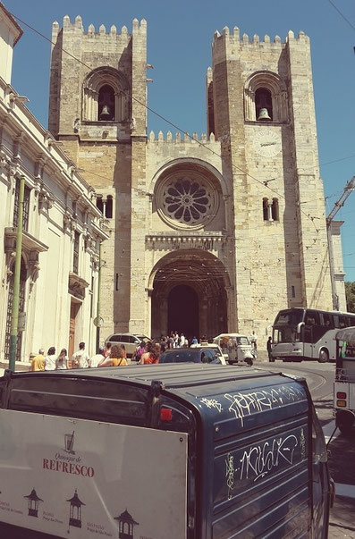 Cathedral Sé Patriarcal in Alfama, Lisbon
