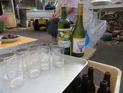 まずは白ワイン