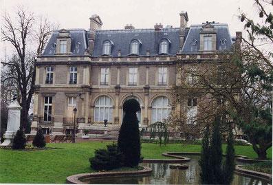Façade de l'Hôtel d'Emmonville. Illustration de la page Facebook de la BM