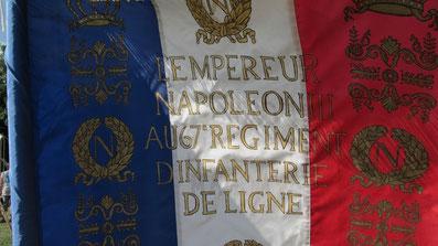 Drapeau du régiment.