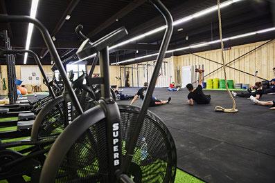 500m² d'espace d'entraînement chaleureux