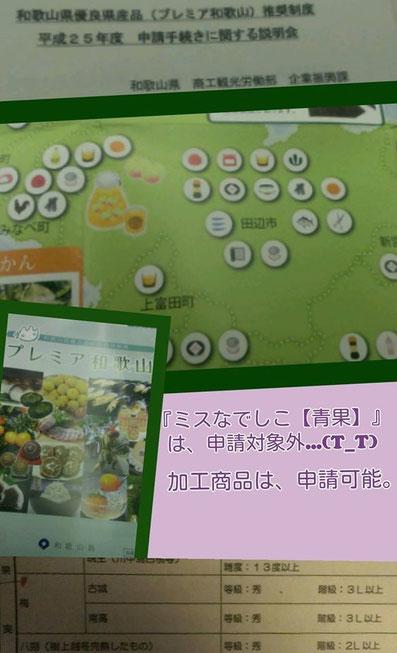 2013 プレミア和歌山 への想い